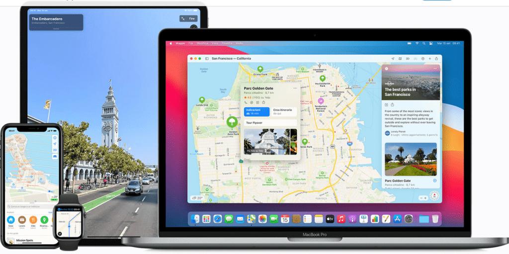 Apple rilascia la nuova versione di Mappe in Italia, San Marino, Città del Vaticano e Andorra