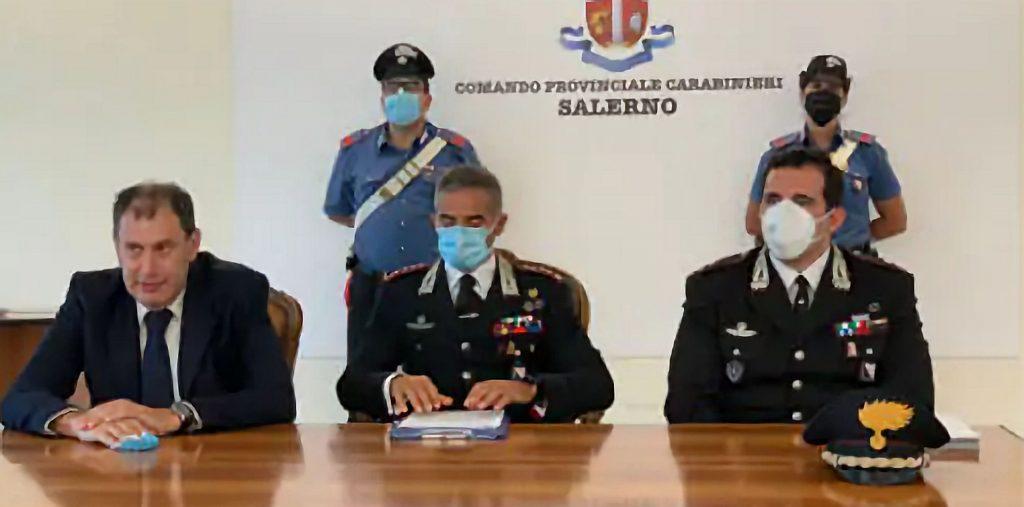 Salerno, custodia cautelare a carico di 23 persone per traffico di droga